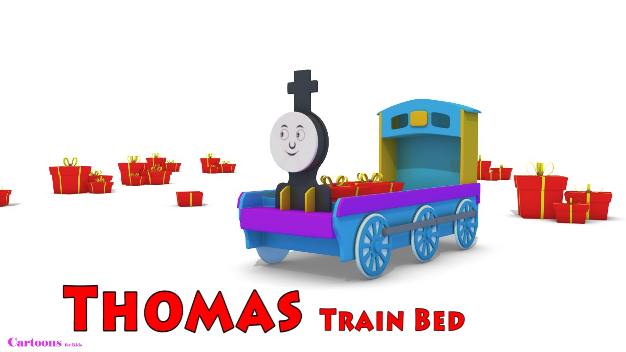 Thomas The Train | Train Bed Videos for Children | Bed Cartoons ...