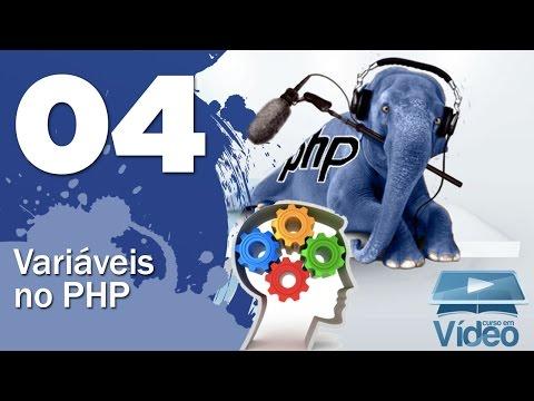 Variáveis em PHP - Curso PHP Iniciante #04 - Gustavo Guanabara
