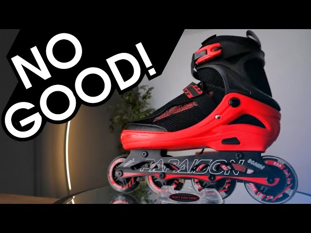80USD AMAZON BESTSELLER PAPAISON INLINE SKATES ARE NO GOOD!