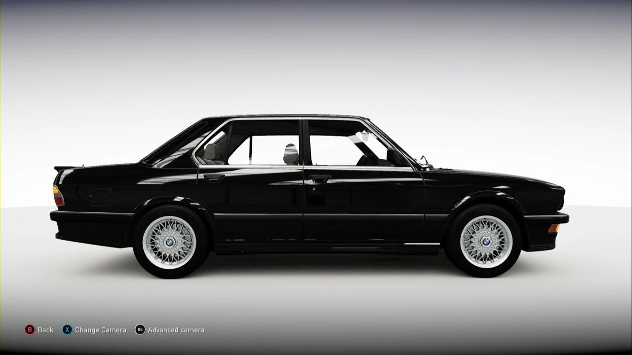 Forza Horizon BMW M YouTube - 1988 bmw m5