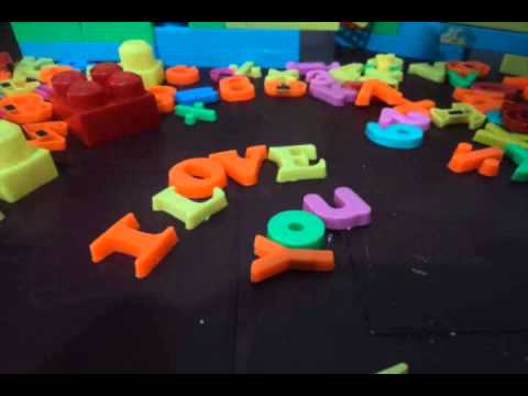 I love you Stop Motion