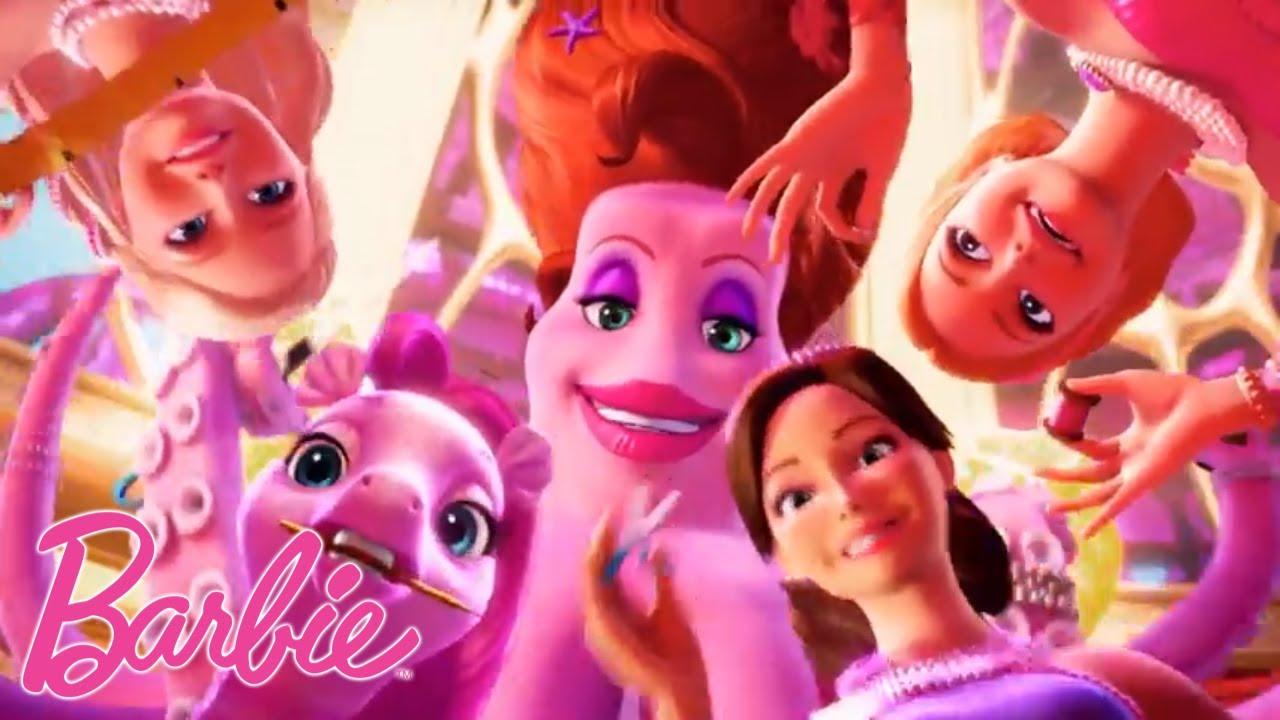 Barbie Italia Festa Della Sirena Video Musicale Barbie E La