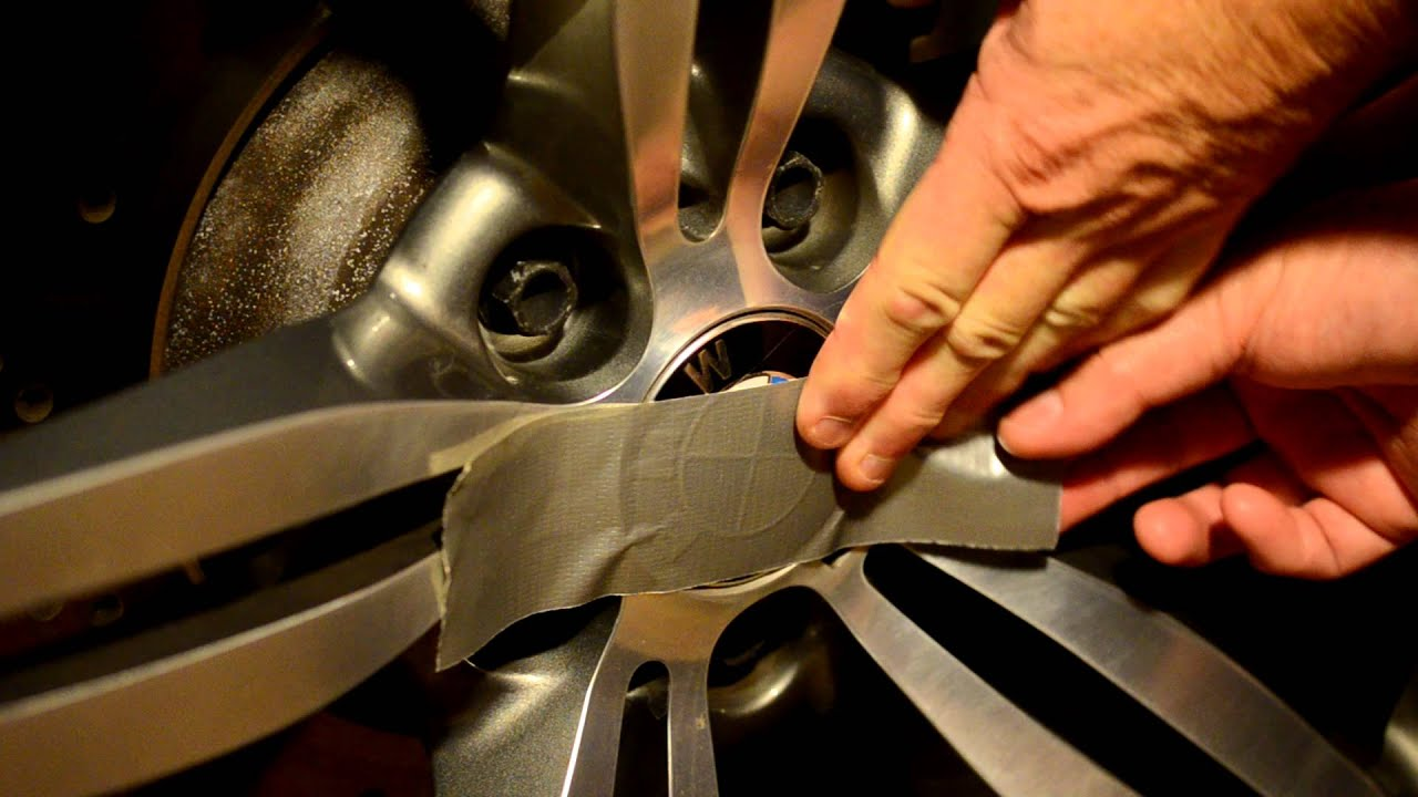 BMW Wheel Emblem Change YouTube - Bmw decals for wheels