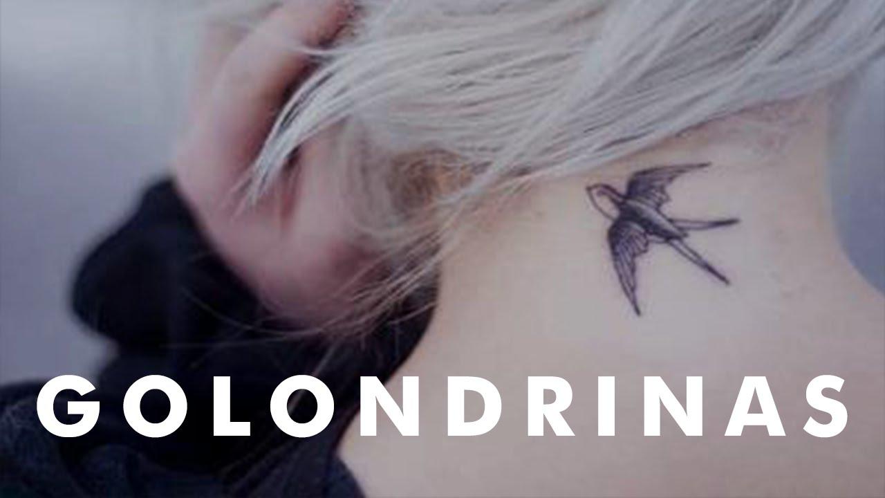 Pequeños Tatuajes De Golondrinas Youtube