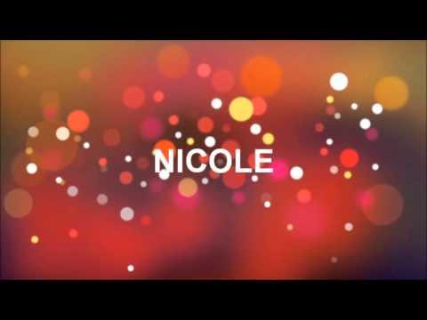 Alles Gute Zum Geburtstag Nicole Youtube