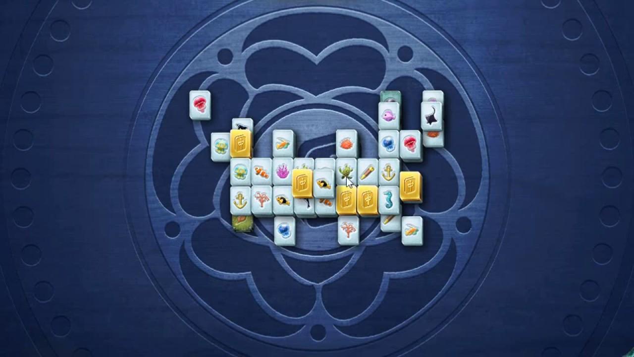 Microsoft Mahjong December 21st 2016 Golden Tiles