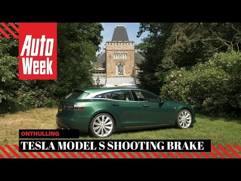 Onthulling - One-off Tesla Model S Shooting Brake