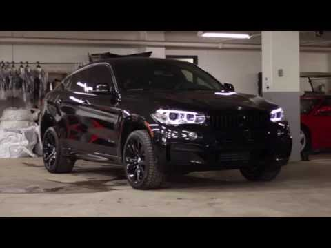 2015 Bmw X6 Black Beauty Youtube