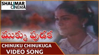 Mukku Pudaka Movie || Chinuku Chinukuga Video Song || Bhanu Chander, Vijayashanti || Shalimarcinema