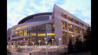 TOP 20 COLLEGE BASKETBALL ARENAS 2017 (HD)
