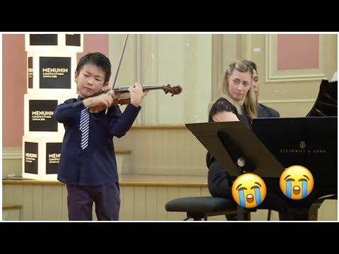 This 10-year-old Australian violin prodigy is so good you might cry