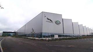 Jaguar Land Rover ouvre une usine de moteurs en Angleterre