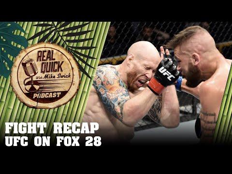 UFC On Fox 28 Orlando Recap - Josh Emmett vs Jeremy Stephens