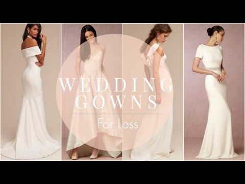 Wedding Weekend: Gorgeous Wedding Gowns For Less