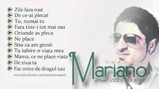 MARIANO - De ce ai plecat