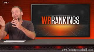 2018 Fantasy Football Week 7 Positional Rankings