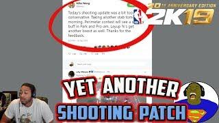 MIKE WANG TWITTER  - LOCKDOWN DEFENDERS GET ANOTHER BUFF - PERIMETER SHOOTING PATCH - NBA 2K19