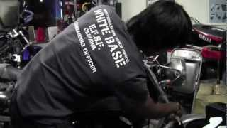 自分で出来るバイク整備 アルミ部品など金属無垢部品の磨き方