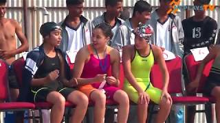 Olympian Gaurika singh | Gold medel in 8th national game