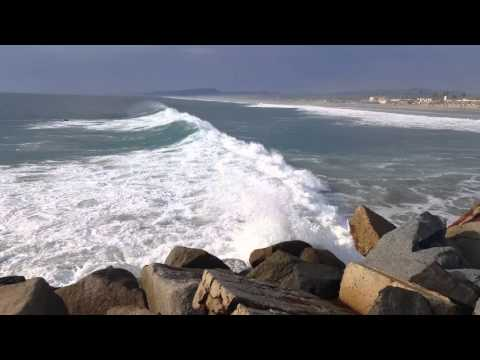 Camp Pendleton Del Mar Beach scenes (4K)