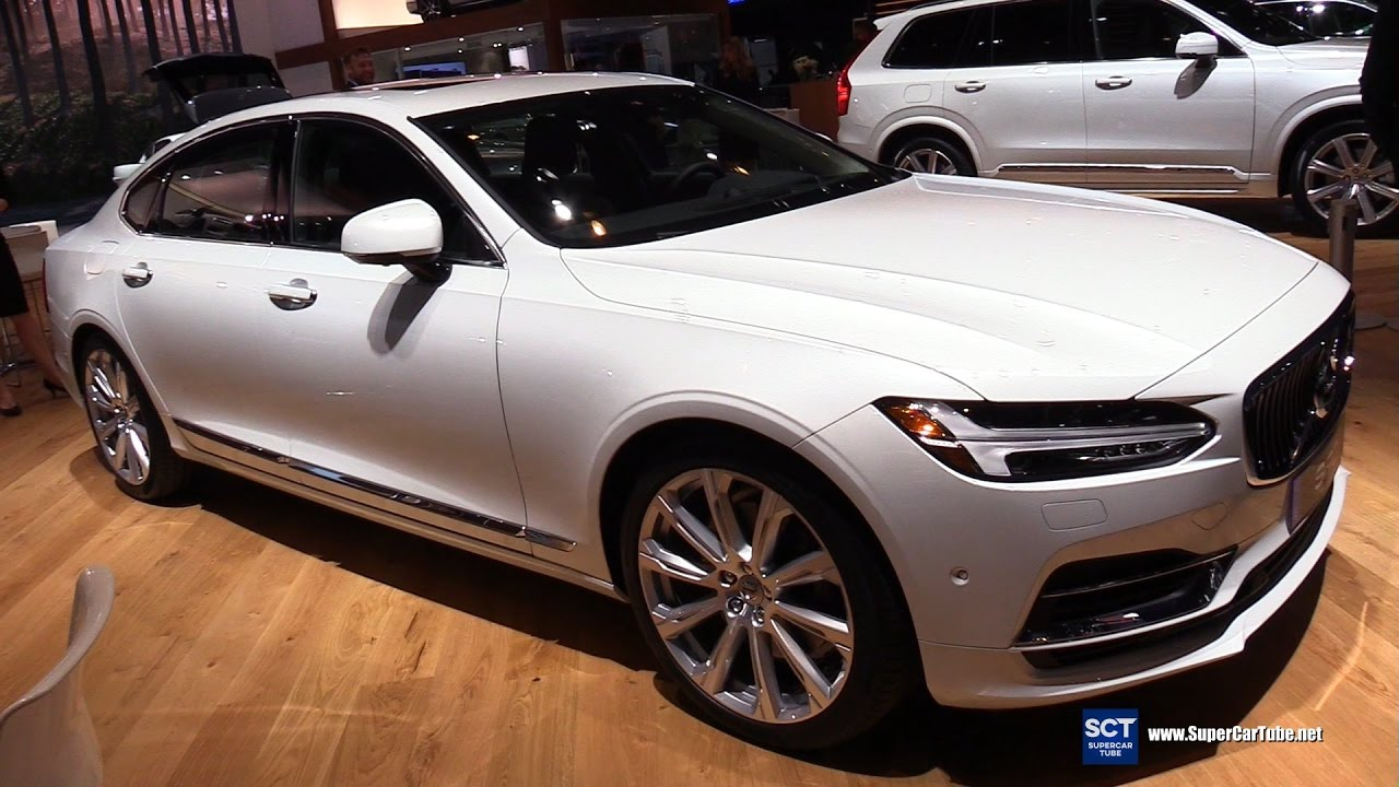 2018 Volvo S90 T8 Inscription Exterior Interior Walkaround Debut 2017 New York Auto Show