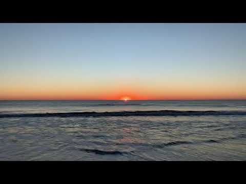 Sunrise in Ocean City, Md November 4, 2018