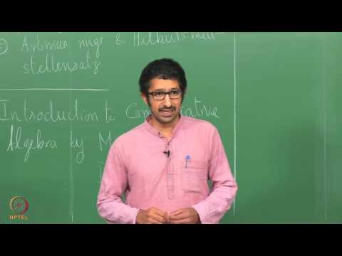 Lecture 1 - Review of Ring Theory