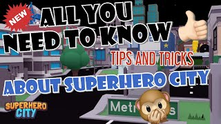 HOW TO LEVEL UP FAST IN SUPERHERO CITY! (Roblox)