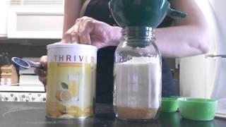 5 Days of Jar Meals Day 5: Cornmeal Cookies