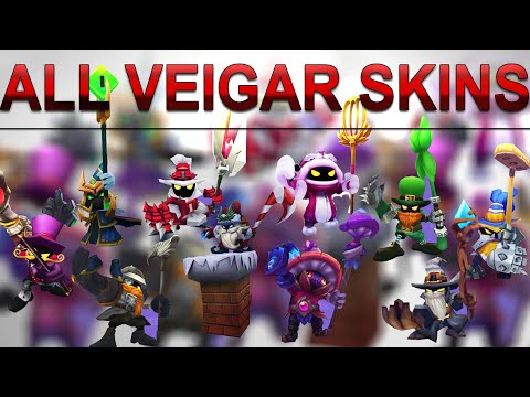 All Veigar Skins Spotlight (2009 - 2020) League of Legends