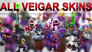 All Veigar Skins Spotlight (2009 - 2020) League of Legends