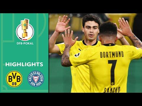 5-0! BVB Storm Into The Final | Borussia Dortmund Vs. Kiel 5-0 | Highlights | DFB-Pokal Semi Finals