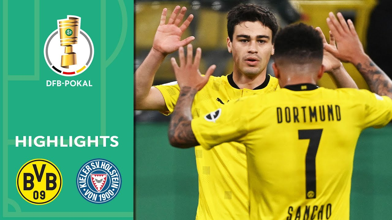 5-0! BVB storm into the final | Borussia Dortmund vs. Kiel 5-0 | Highlights | DFB-Pokal Semi Finals