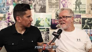 FREDDIE ROACH IS PICKING TYSON FURY TO BEAT DEONTAY WILDER! GIVES ANALYSIS ON WILDER VS FURY!