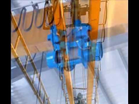 Manufacturing overhead crane and hoist components تصنيع وتركيب ونشات كهربائية صناعية