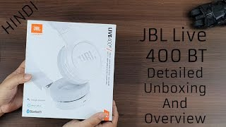 JBL Live 400BT unboxing in Hindi Gadget Bridge Hindi