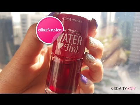 [EDITOR REVIEW] Kiss & Tell - Etude House Dear Darling Water Lip Tint thumbnail