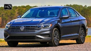 2019 Volkswagen Jetta 1.8T SEL 4D Sedan Exterior Interior Design & Driving Footage HD