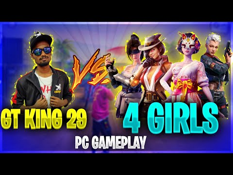 💥Gaming Tamizhan Vs 4 Girls 🔥| Pc Ultra GamePlay | Free Fire Best Ever Pc Gameplay Tricks&Tips Tamil thumbnail