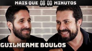 Guilherme Boulos INVADE estúdio de Rafinha Bastos | Mais que 8 Minutos
