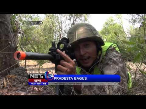Sensasi Pacu Adrenalin Bermain Airsoft Gun di Indramayu - NET24