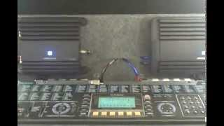 "In-Car SPL Bass Test KeyBoard On 3 12"" Orion HP Subs & Alpine MRP-M1000 / 500 Best 4 Loud Deep Tones"