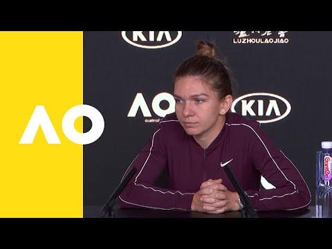 Simona Halep press conference (2R) | Australian Open 2019
