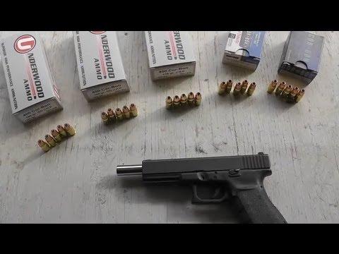 Glock 21 400 Corbon - Ammo Test - Accuracy Velocity, Recoil