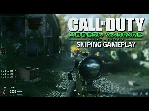 Call of Duty® Modern Warfare Remastered MULTIPLAYER EARLY ACCESS! Quick scope
