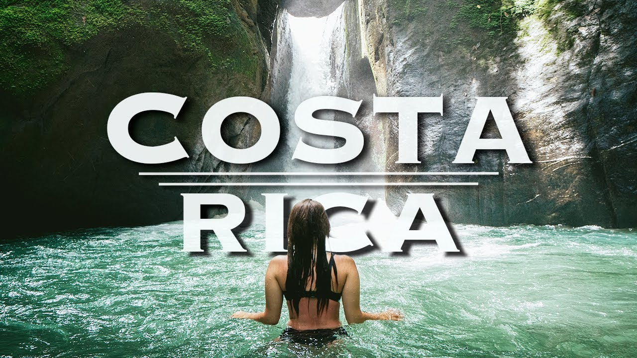Costa Rica Nature in 4K | Drone Relaxation Travel Video