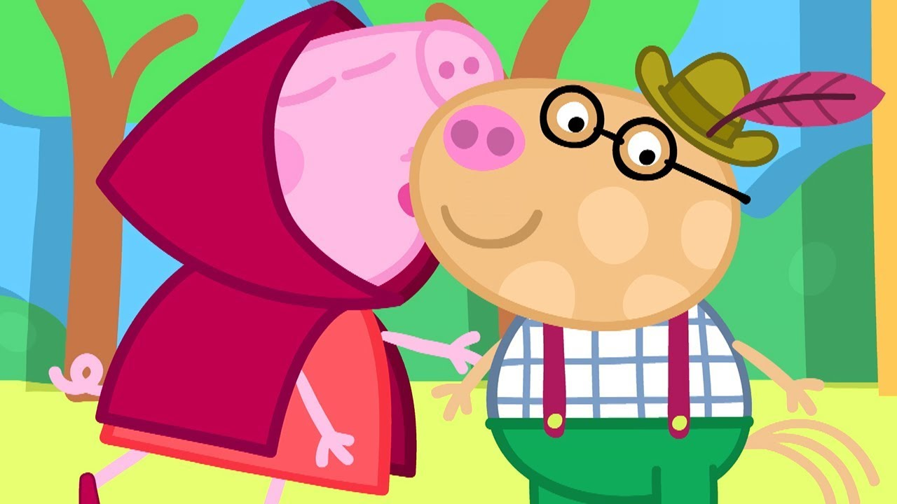 Peppa Pig Official Channel Peppa Pig Hugs And Kisses