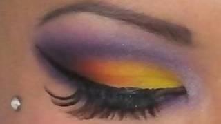 Tropical Inspired Eyeshadow Tutorial