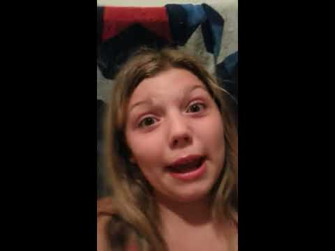 Sister vs brother ice challenge