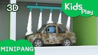 Learn colors with Miniforce | Miniforce wash a car | Car wash | Mini-Pang TV Kids Play
